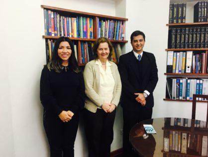 Reuniões da APPLE-PE com Unifé e Centro de Idiomas da Universidad del Pacífico